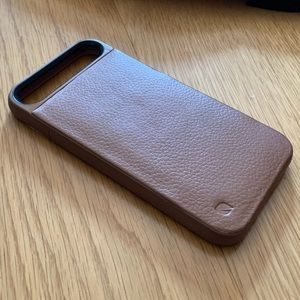IPhone 7 & 8 Brown Pebbled Leather Case by Incase